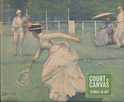 item 039: COURT ON CANVAS: Tennis in Art